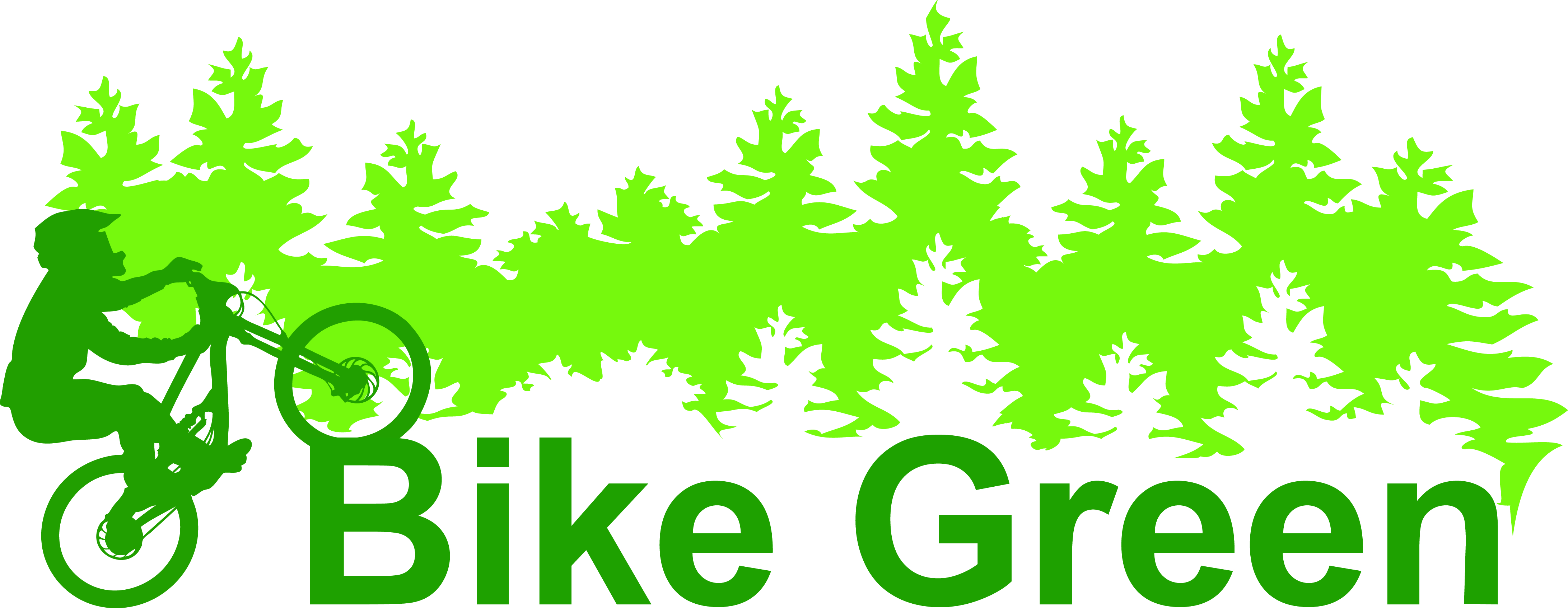 Bike Green Logo Complete