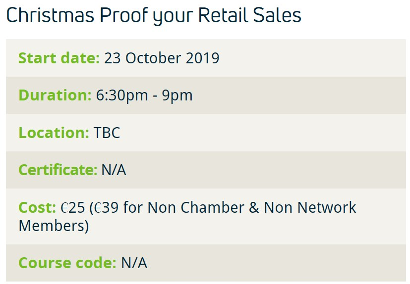 Christmas Proof Your Retail Sales